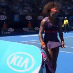 Serena Williams Smashes Her Racket After Losing To A 19 Year Old