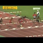 Jaheel Hyde Sizzles to 13.13 Sets New CR boys 110m Hurdles World Youth Championships 2013