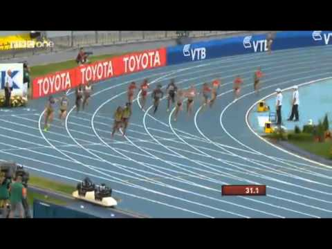 Jamaica Wins Women's 4X100M Relay in 41.29 At Moscow World Championships 2013