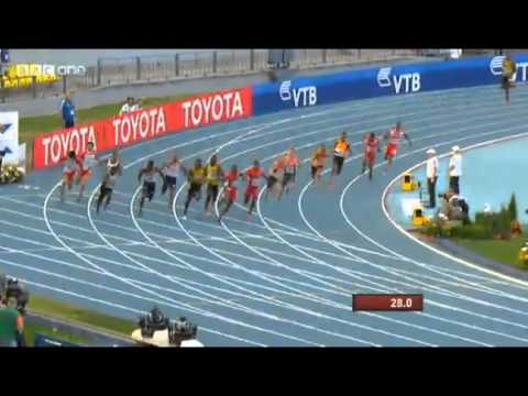 Jamaica Wins Men's 4X100M Relay in 37.36 At Moscow World Championships 2013