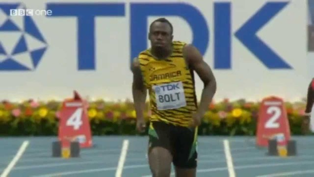 Usain BOLT Wins Heat 7 of the Men's 100m in 10.07 (Moscow World Championships 2013)