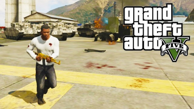 GTA 5 – Invincibility Cheat (GTA V)