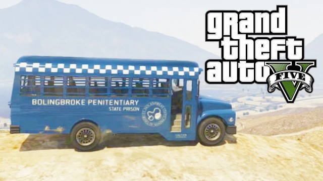 "GTA 5 Secret Cars – ""Prison Bus"" (GTA V)"