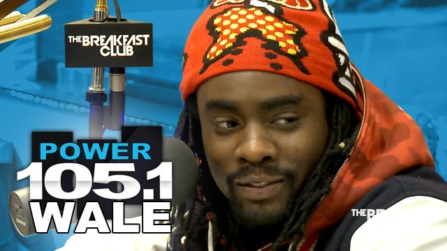 Wale Talks Complex, Trip To Nigeria & More With The Breakfast Club
