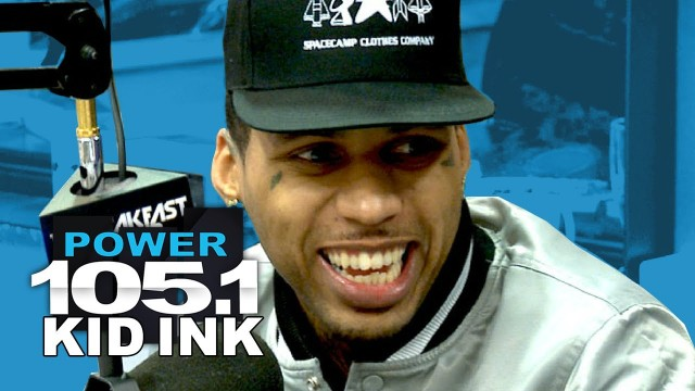 "Kid Ink Talks New Album ""My Own Lane"" With The Breakfast Club"