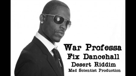 "War Professa ""Fix Dancehall"" Warning to Demarco, J Amsterdam & Ricky Carty 2014"