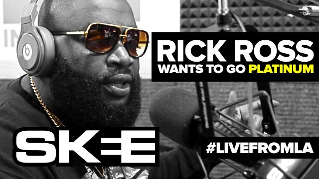 Rick Ross Wants To Go Platinum