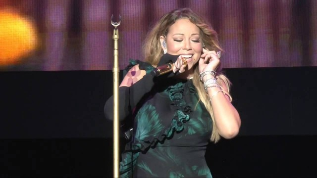 Mariah Carey performing at Jazz & Blues 2015 in Jamaica