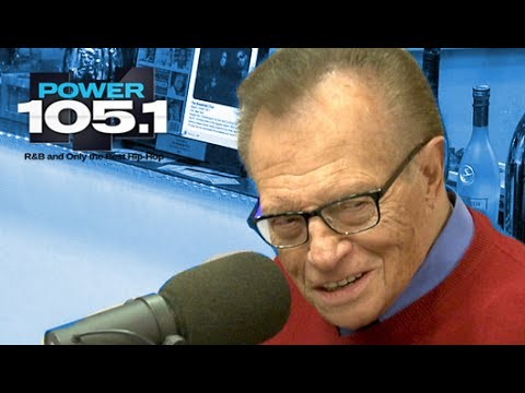 Larry King Interview at The Breakfast Club Power 105.1 (02/19/2015)