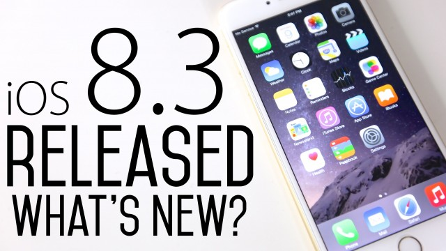 iOS 8.3 Beta 1 Released – What's New Review + iOS 8.4 & iOS 9