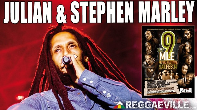 Julian & Stephen Marley – Little Too Late @ 9 Mile Music Festival in Miami, FL [February 14th 2015]