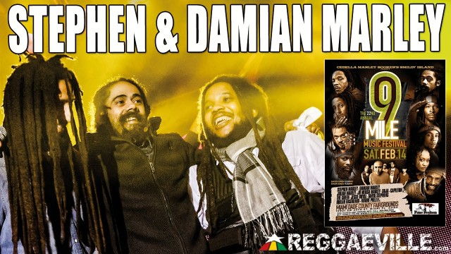 Stephen & Damian Marley – Jah Army @ 9 Mile Music Festival in Miami, FL [February 14th 2015]
