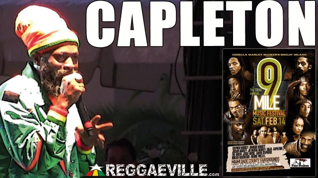 Capleton @ 9 Mile Music Festival in Miami, FL [February 14th 2015]