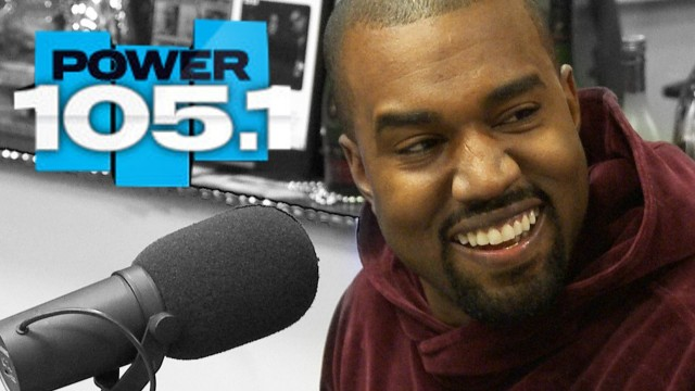 """Kanye West x The Breakfast Club: On Amber Rose """"I Had To Take 30 Showers Before I Got With Kim."""""""