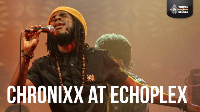Chronixx Performing Live at Dub Club – EchoPlex LA USA
