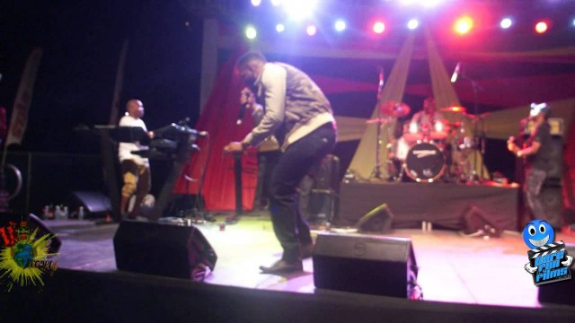 Agent Sasco performing at Bugle & Friends Show