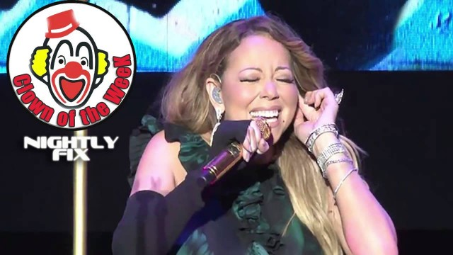 Clown of the Week [Jan30-Feb5]: Mariah Carey (Lip sync fail) – Nightly Fix