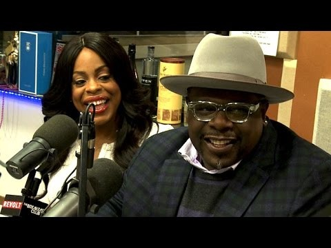 Cedric The Entertainer and Nicey Nash at The Breakfast Club Power 105.1 (03/10/2015)