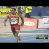 Jaheel Hyde Destroys the Field Breaks (Jam) JR 400mh Record Champs 2015