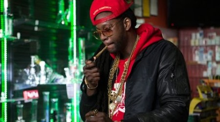2 Chainz Smokes a Gold-Covered Joint | #MostExpensivestShit