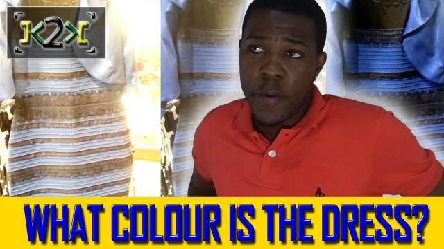 What Color Is The Dress? [Reaction] – @Kevin2wokrayzee
