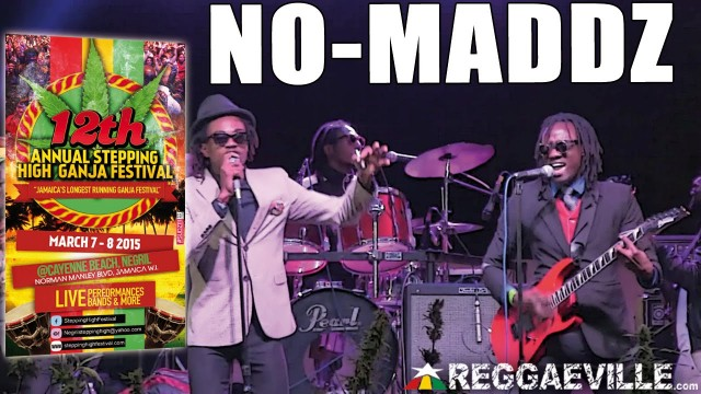 No-Maddz  Performs Shotta @ Stepping High Ganja Festival 2015 [March 7-8th 2015]