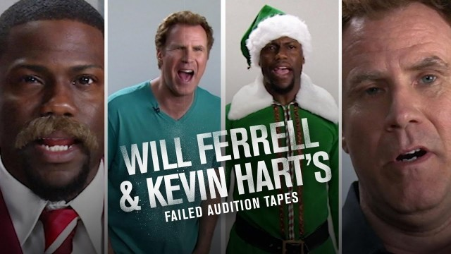 Kevin Hart x Will Ferrell Failed Audition Tapes