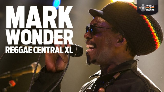 Mark Wonder Live at Reggae Central XL Dordrecht (NL)