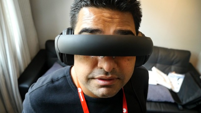 Headphones That Become a Personal Cinema