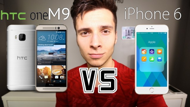 HTC One M9 VS iPhone 6 – Which Should You Buy?