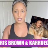 Chris Brown x  Karrueche Tran Reaction