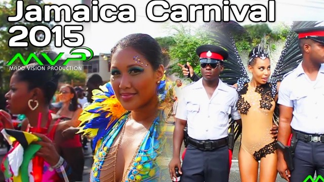 Jamaica Carnival Road March 2015