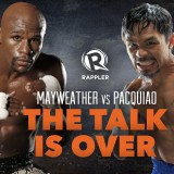 Mayweather vs Pacquiao: The talk is over