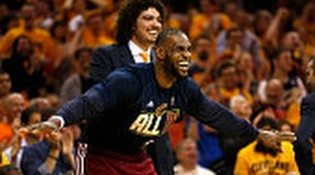 Lebron James Takes Control, Leads Cavs to NBA Finals