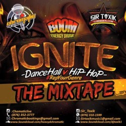 Chromatic x Sir Toxik BOOM IGNITE Promo Mix 2015