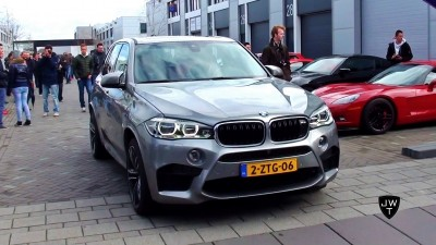 New 2015 BMW X5 M Accelerations! Exhaust Sounds